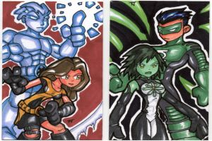 Sketch Cards - GL J Icey Kitty by TerryTibke