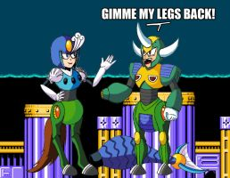 GIMME MY LEGS BACK by SomethingSyndicated