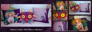 Majora's Mask 3DS Pillow Collection by tavington