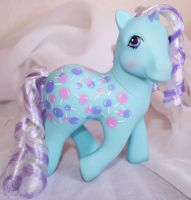 Sweet Tooth Candy Cane Rehair My Little Pony by mayanbutterfly