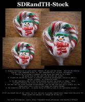 Xmas Lollipop 01 Pack by SDRandTH-Stock