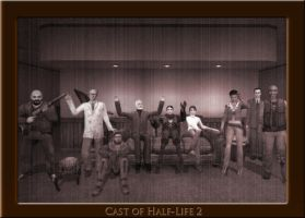 The Cast of Half-Life 2 by N-exus