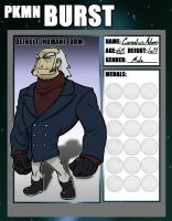 PKMN BURST App: Cornelius Jerome Adams by ProfessorZolo