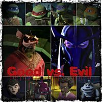 TMNT:: Good vs. Evil: 2012 by Culinary-Alchemist