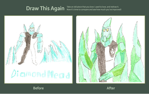 Draw This Again Essential Diamond Head by HyperForceGo