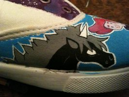 Lord Monochromicorn WIP AT Shoes by PirateTabby