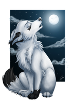 Song of lonly wolf by AriannLee
