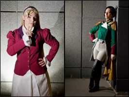 Gundam Wing: Power Girls by Elemental-Sight