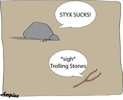 The Trolling Stones by ampix0