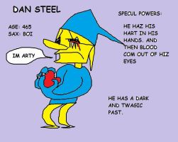 Dan Steel Ref by TheCheeseCannibal