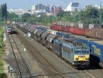 V63 046 and 189 157 with freight train in Gyor by morpheus880223