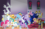 La Brioche di Celestia (Wallpaper) by the-gneech