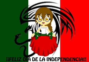 Feliz Independencia Mexico 2012 by Peketigregirl