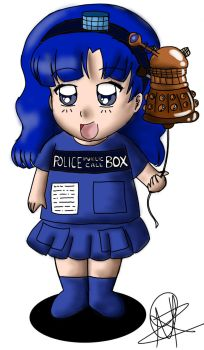 TARDIS Girl by TheHope1989
