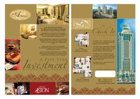 albergo flyer by remanua