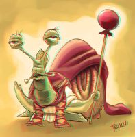 St. Caracol 3d anaglyph by Trucas