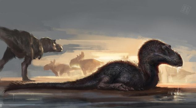 Gorgosaurus Libratus by Raph04art
