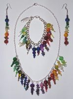 Rainbow Collection by DragonTreasureArt