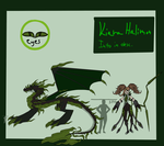 Kiaras Demon Form Ref by XxEvias-Toxic-LovexX