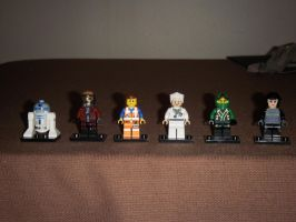 Six Degrees of Separation in Lego by BrigadierDarman