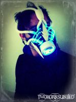 Cold Corruption Arctic Cybernetic gas mask by TwoHornsUnited