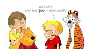 Calvin and Hobbes Tribute by khalamithy