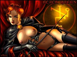Jean Grey - Black Queen by Candra