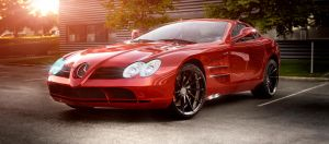 Mercedes-Benz SLR Mclaren by TheImNobody