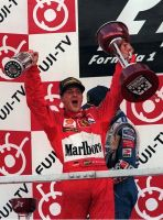 Michael Schumacher (Japan 1997) by F1-history