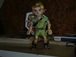 Papercraft Young Link by Esteban1988