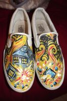 Doctor who shoes by Tripplerz