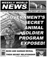 Weakly World News Fake by Albino-From-Abouut