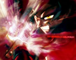 Dragonball GT Splash - SSJ4 !! by shinkairi-