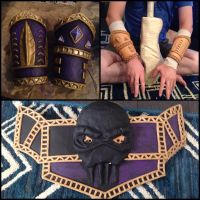 Witch Doctor Cosplay WIP 1 by LeluDallas
