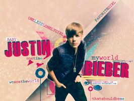 JB is my World Wallpaper by anaxcore