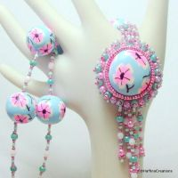 Cherry Blossom Necklace by Haffina