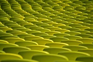 Green Circles 12219385 by StockProject1