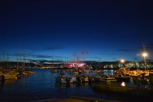 Port Canto To CANNES by night by A1Z2E3R