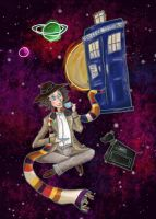 Tea-Time TARDIS by SmudgeThistle