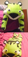 Frank the Fluorescent Tiger by radtastical