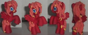 Custom My Little Pony Blind Bag Red by Ember-lacewing