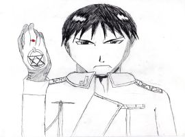 Roy Mustang by PanTrunks