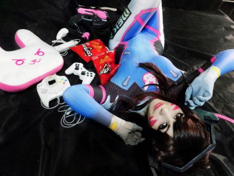 Nerf this - D.va Cosplay by LifeisaFiction