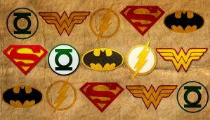 DC Icons by jamesvaughnn