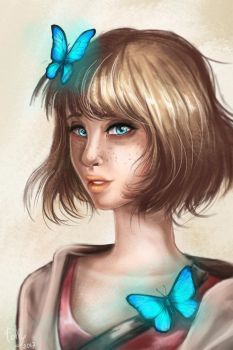 Max Caulfield by CandyFlora