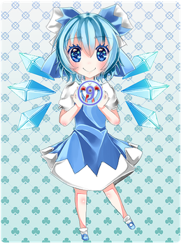 Commission - Cirno by Dangoooxx