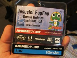 Anime-Expo ID Badge by ChillBebop