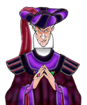 Dem Coloring Pages - Frollo (1) by yami0815