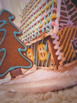 Gingerbread house by acidmii