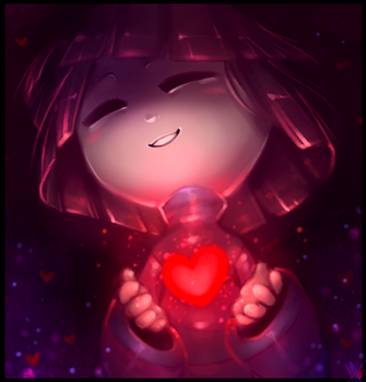 Frisk - Undertale by WalkingMelonsAAA